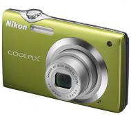 Цифровой фотоаппарат Nikon COOLPIX S3000 Green (VMA543E1)