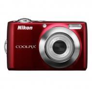 Цифровой фотоаппарат Nikon COOLPIX L22 Red (VMA572E6)