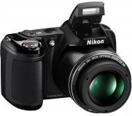 Цифровой фотоаппарат Nikon COOLPIX L320 Black (VNA340E1)