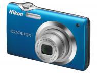Цифровой фотоаппарат Nikon COOLPIX S3000 Blue (VMA544E1)