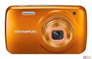 Цифровой фотоаппарат Olympus VH-210 Orange + чехол + SDHC 4 Gb KIT
