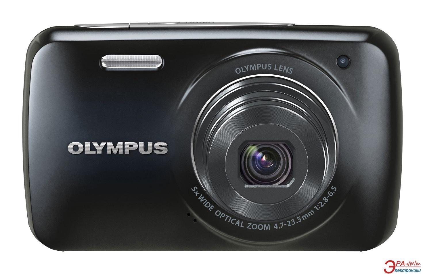 Цифровой фотоаппарат Olympus VH-210 Black + чехол + SDHC 4 Gb KIT