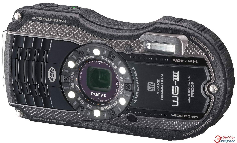 Цифровой фотоаппарат Pentax Optio WG-3 Kit Black\Grey (1268300)