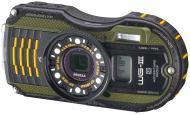 Цифровой фотоаппарат Pentax Optio WG-3 GPS Kit Black\Green (1266100)