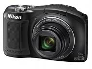 Цифровой фотоаппарат Nikon COOLPIX L620 Black (VNA470E1)