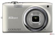 Цифровой фотоаппарат Nikon Coolpix S2700 Silver (VNA300KV01) + чехол