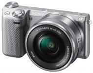�������� ����������� Sony NEX-5T + �������� 16-50 mm Silver (NEX5TLS.RU2)