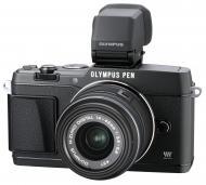 Цифровой фотоаппарат Olympus E-P5 14-42 mm Kit + VF4 Black (V204051BE020)