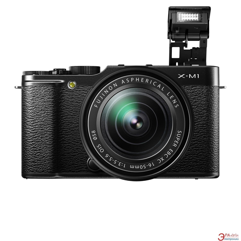 Цифровой фотоаппарат Fujifilm X-M1 + XC 16-50mm Kit Black (16390809)