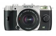 Цифровой фотоаппарат Pentax Q7 + объектив 5-15mm F2.8-4.5 Silver (11519)