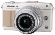 Цифровой фотоаппарат Olympus E-PL5 14-42 mm White/ Silver (V205041WE000)