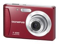 Цифровой фотоаппарат Olympus T-100 Red
