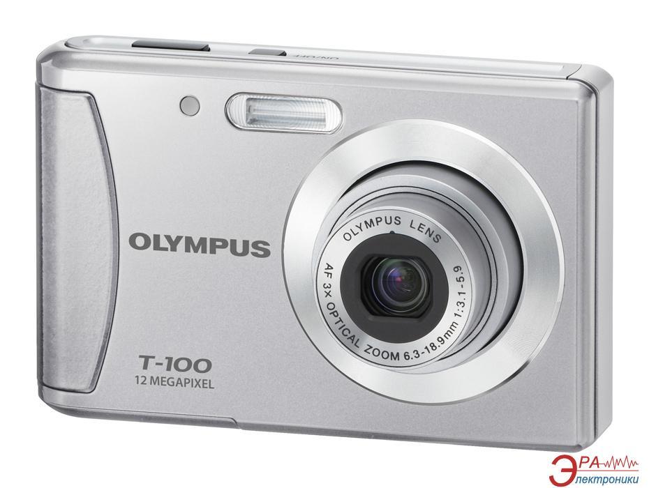 Цифровой фотоаппарат Olympus T-100 Silver