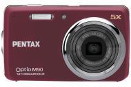 �������� ����������� Pentax Optio M90 Red (17912)