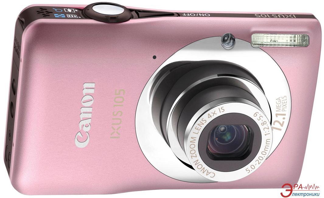 Цифровой фотоаппарат Canon DIGITAL IXUS 105 IS Pink (4221B001)