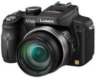 Цифровой фотоаппарат Panasonic LUMIX DMC-FZ100 Black (DMC-FZ100EEK)