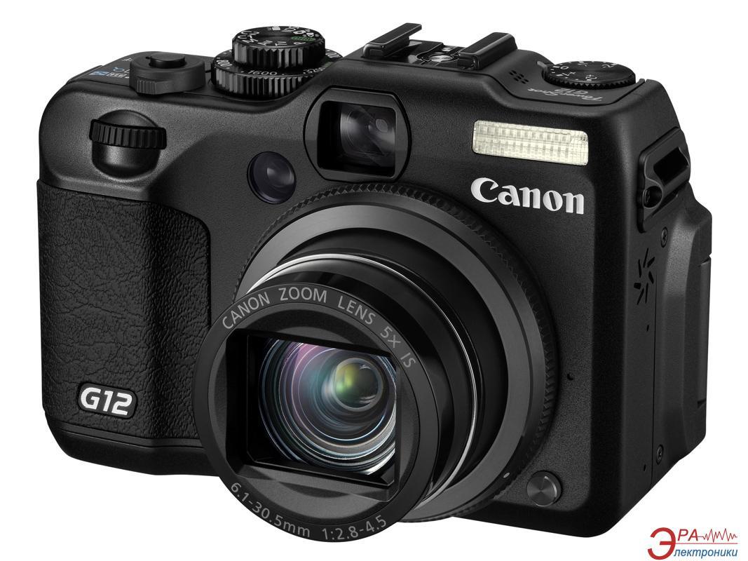 Цифровой фотоаппарат Canon PowerShot G12 Black (4342B022)