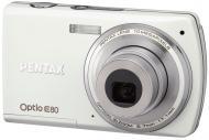 Цифровой фотоаппарат Pentax Optio E80 White (16181)