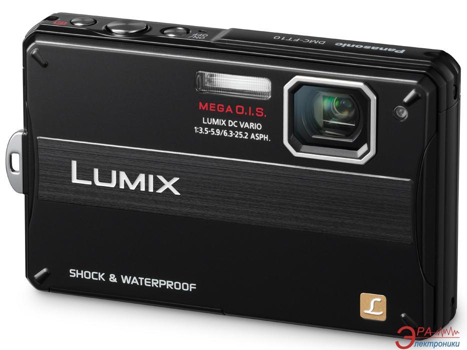 Цифровой фотоаппарат Panasonic LUMIX DMC-FT10 Black (DMC-FT10EE-K)