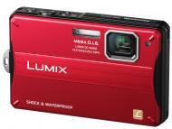 Цифровой фотоаппарат Panasonic LUMIX DMC-FT10 Red (DMC-FT10EE-R)