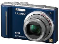 Цифровой фотоаппарат Panasonic LUMIX DMC-TZ10 Blue (DMC-TZ10EE-A)