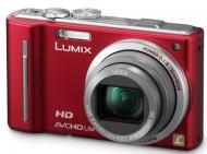 Цифровой фотоаппарат Panasonic LUMIX DMC-TZ10 Red (DMC-TZ10EE-R)