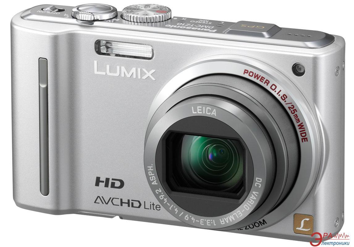 Цифровой фотоаппарат Panasonic LUMIX DMC-TZ10 Silver (DMC-TZ10EE-S)