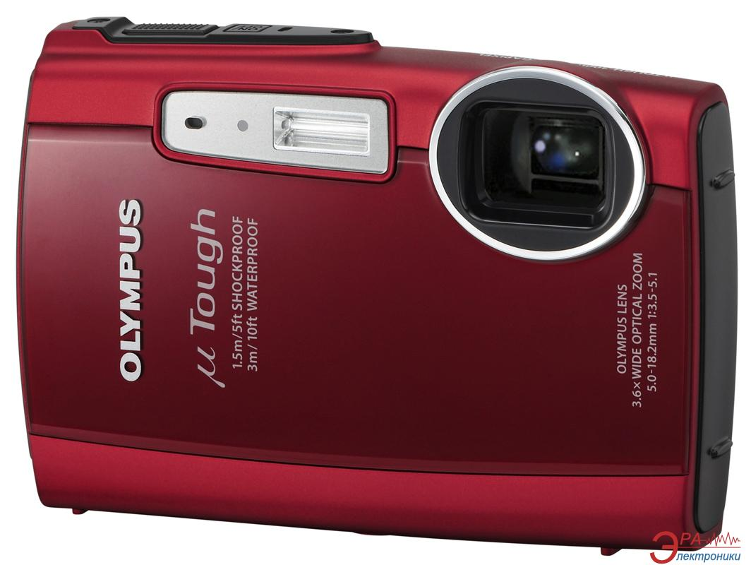Цифровой фотоаппарат Olympus Mju TOUCH-3000 Red