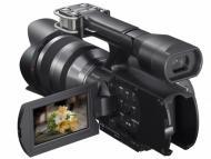 Цифровая видеокамера Sony HDV Flash NEX-VG10 + объектив 18-200 KIT (NEXVG10EB.CEE)