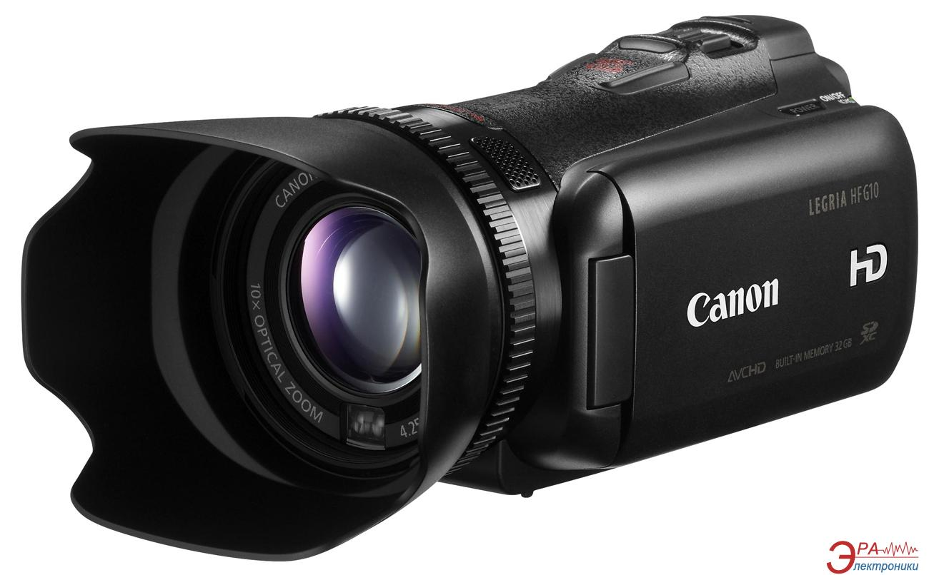 Цифровая видеокамера Canon Legria HF G10 (4923B012)