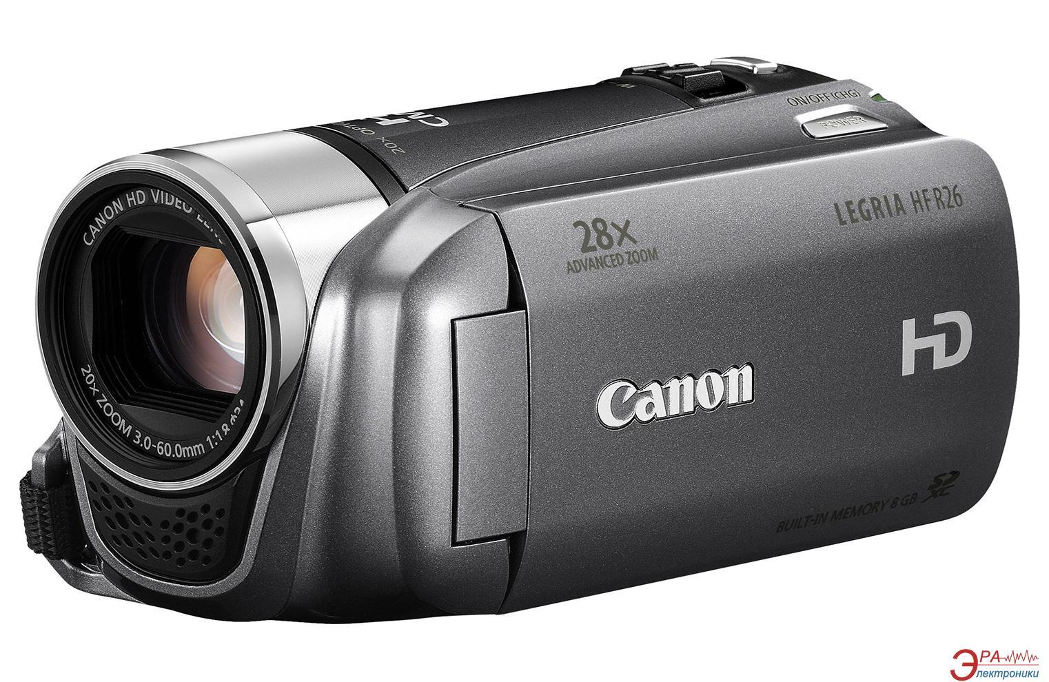 Цифровая видеокамера Canon Legria HF R26 Silver
