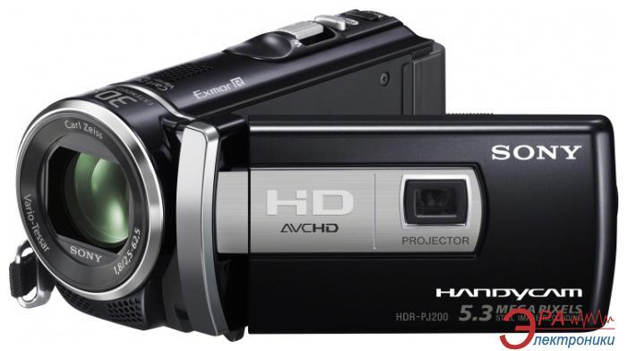 Цифровая видеокамера Sony HDR-PJ200 Black
