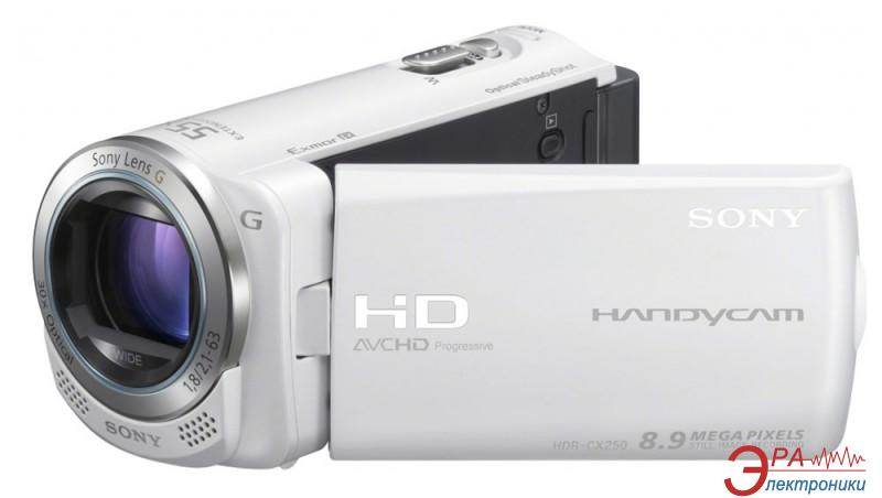 Цифровая видеокамера Sony HDR-CX250E White (HDRCX250EW.CEL)