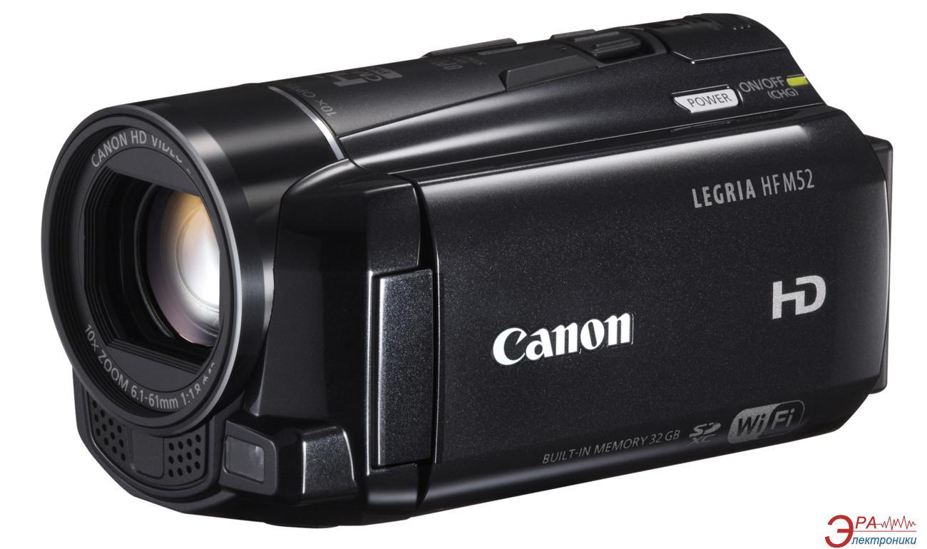 Цифровая видеокамера Canon Legria HF M52 (6093B015)