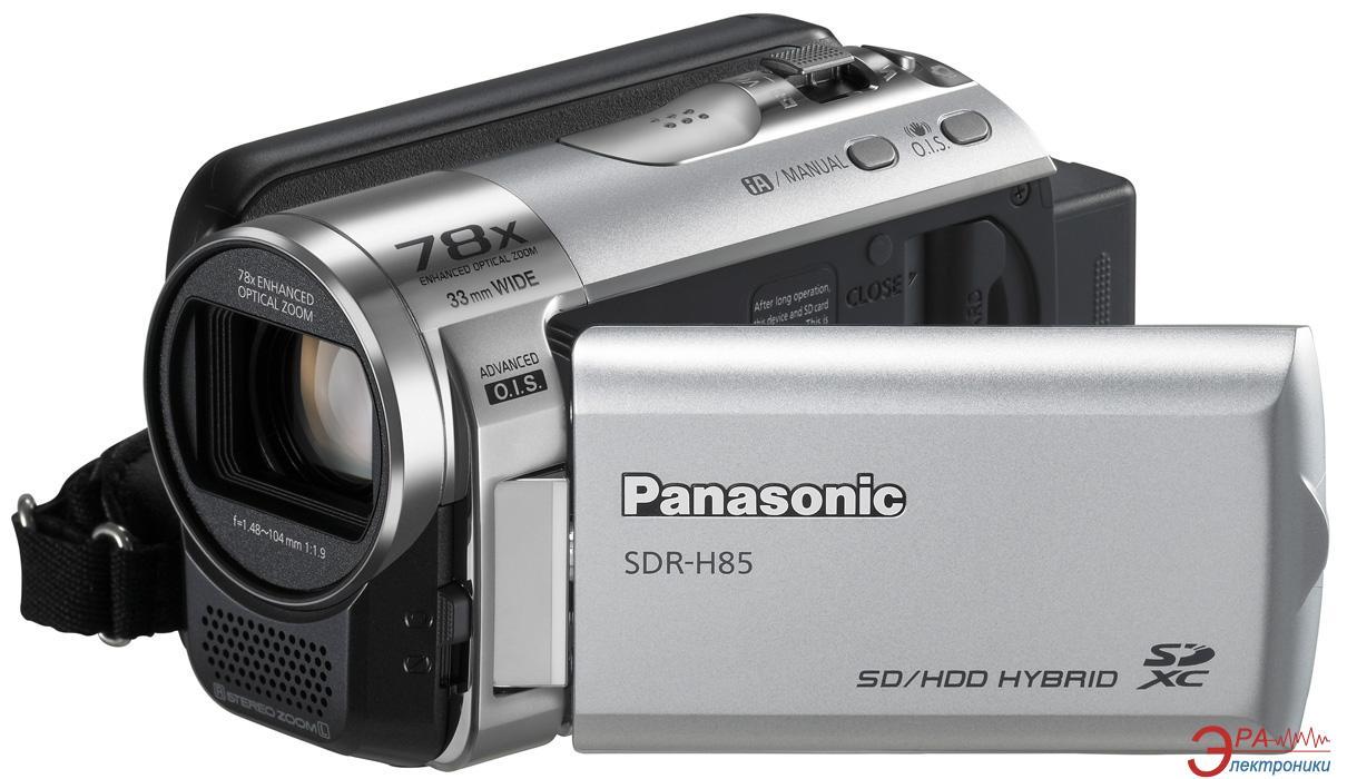 Цифровая видеокамера Panasonic SDR-H85 Silver (SDR-H85EE-S)