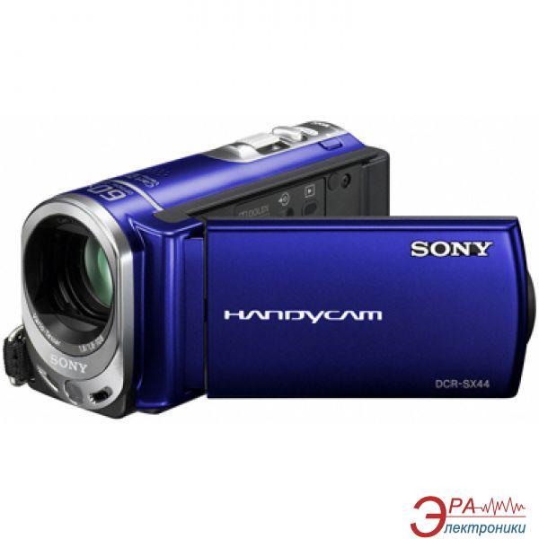 Цифровая видеокамера Sony DCR-SX44 Blue (DCR-SX44EL)