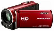 Цифровая видеокамера Sony HDR-CX110 Red (HDR-CX110ER)