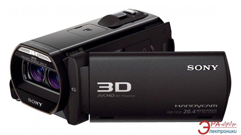 Цифровая видеокамера Sony HDR-TD30E Black (HDRTD30EB.CEL)