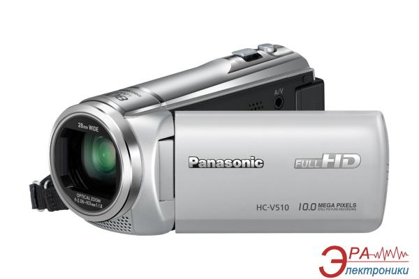 Цифровая видеокамера Panasonic HC-V510 Silver (HC-V510EE-S)