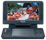 Портативный DVD-плеер Panasonic DVD-LS86EE-K 24 бит / 92 кГц
