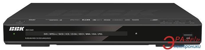 DVD плеер BBK DV116SI Black