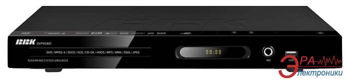 DVD плеер BBK DV458SI Black