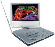 Портативный DVD-плеер Reellex DP-9309TVG 24 бит / 96 кГц