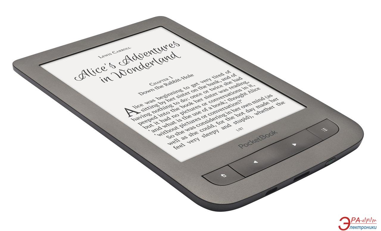 Электронная книга PocketBook Touch Lux 3 (626) (PB626(2)-Y-CIS) Grey