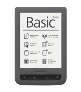 Электронная книга PocketBook Basic Touch 624 (PB624-Y-CIS) Grey