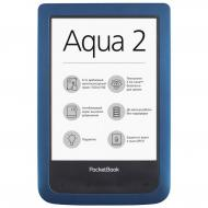 Электронная книга PocketBook 641 Aqua 2 (PB641-A-CIS) Blue/Black