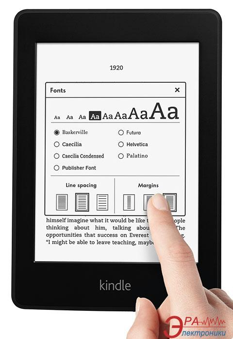 Электронная книга Amazon Kindle Paperwhite 3G Black