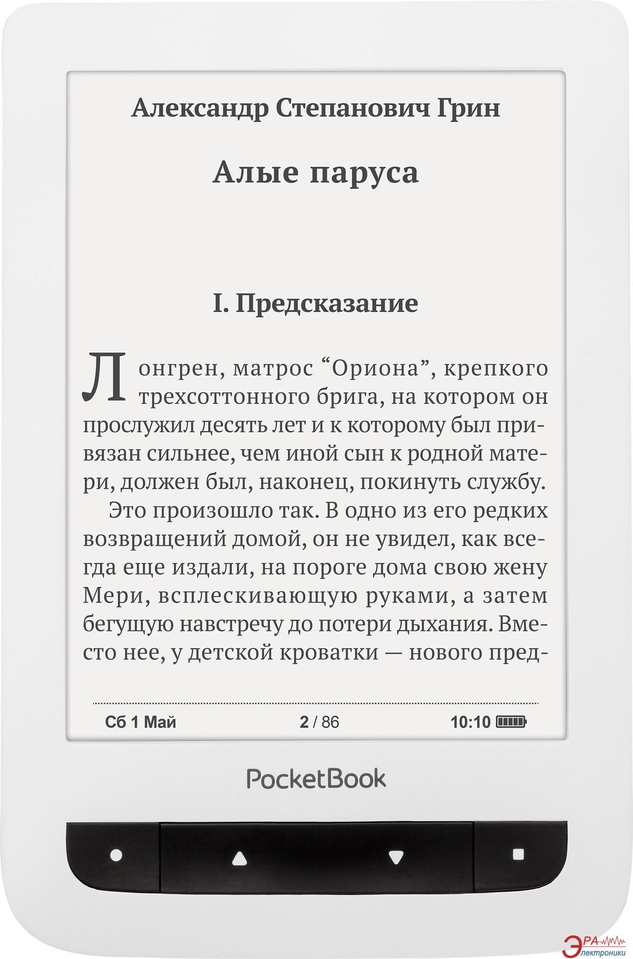 Электронная книга PocketBook Basic Touch 624 (PB624-D-WW) White