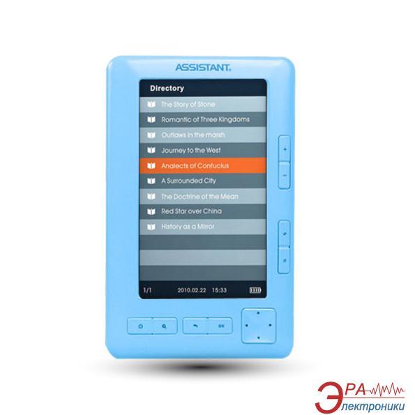 Электронная книга Assistant E-Book AE-501 Blue