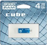 Флеш память USB 2.0 Goodram 4 Гб Cube Blue